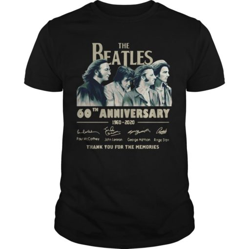The Beatles 60th Anniversary 1960 2020 Thank You For The Memories Signatures