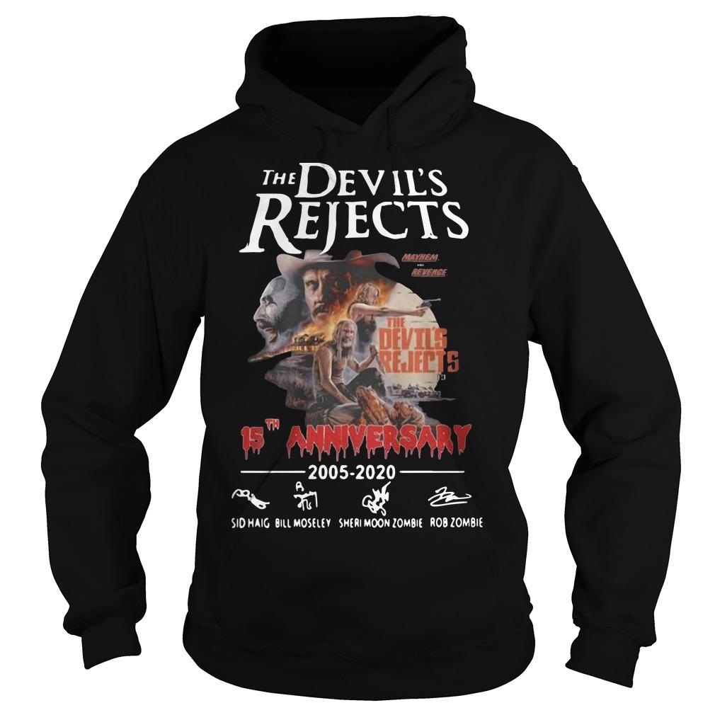 The Devil's Rejects 15th Anniversary 2005 2020 Hoodie