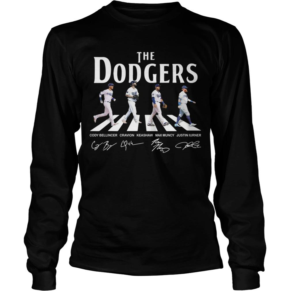 The Dodgers Abbey Road Signatures Longsleeve
