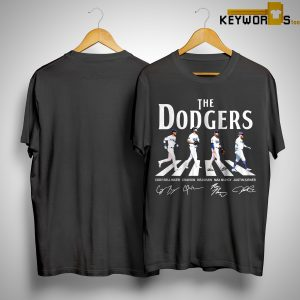 The Dodgers Abbey Road Signatures Shirt