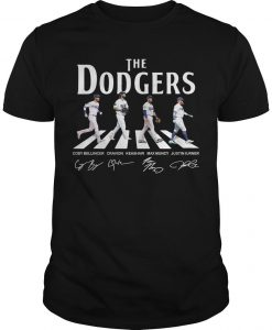 The Dodgers Abbey Road Signatures