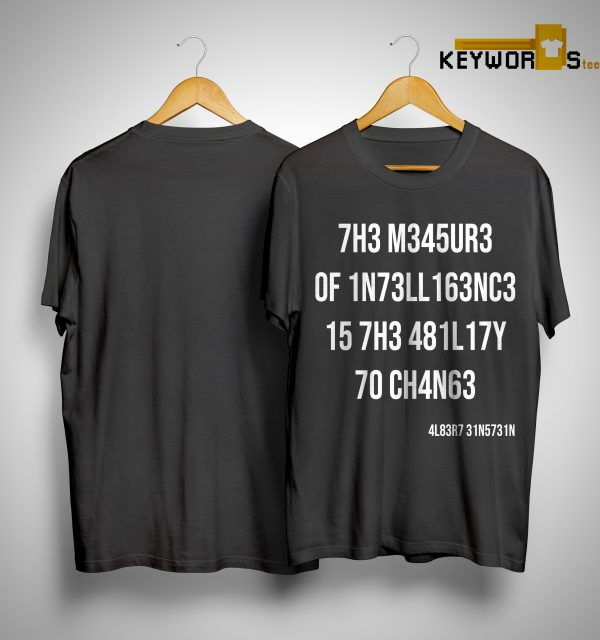 The Donnie Simpson Show The Measure Of Intelligence Is The Ability To Change Shirt