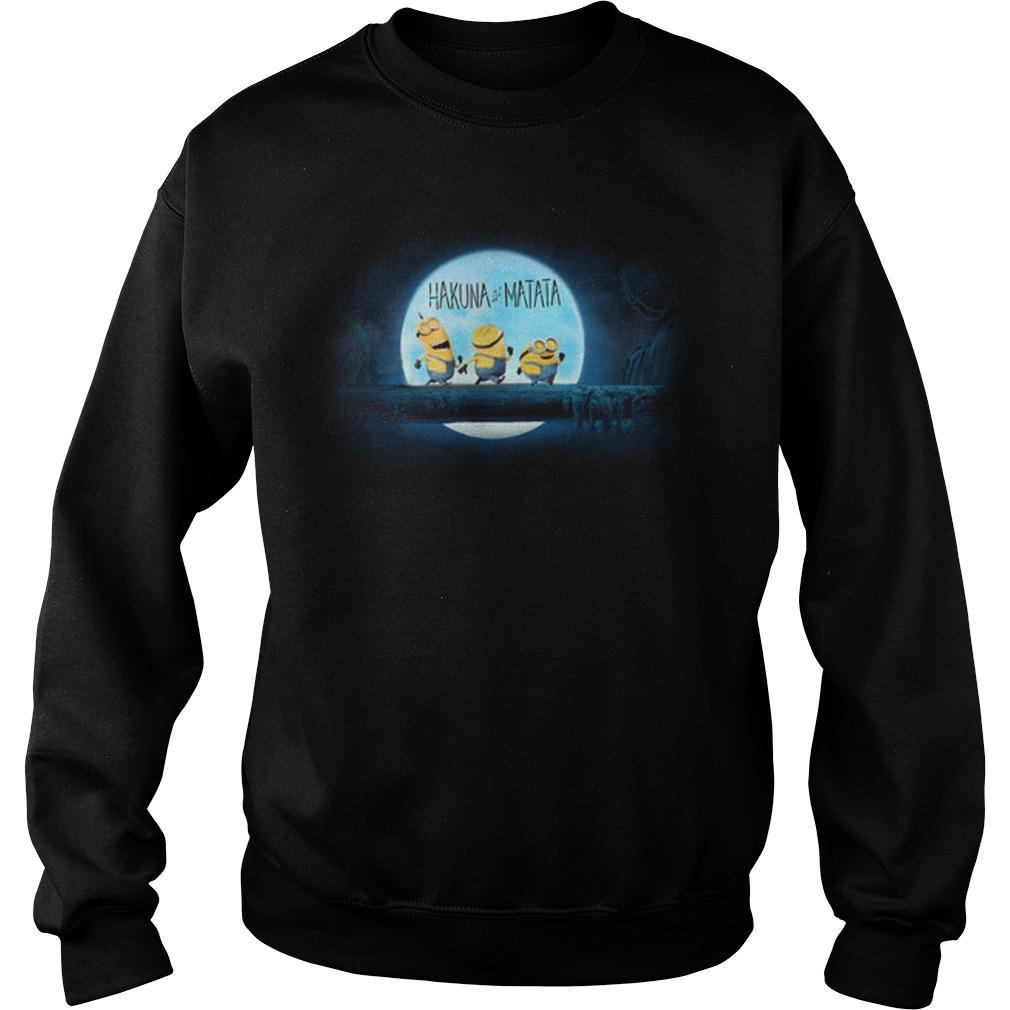 The Lion King Minions Hakuna Matata Sweater