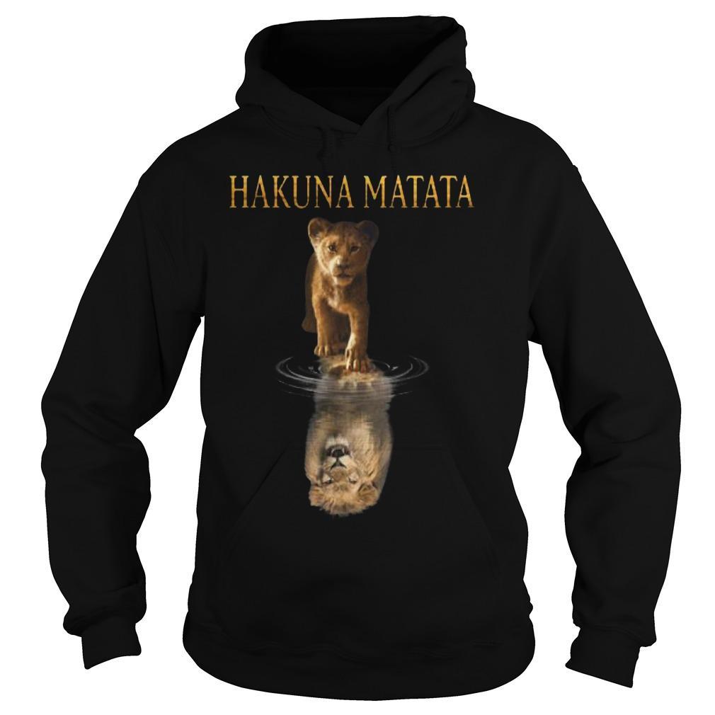 The Lion King Simba Reflection Hakuna Matata Hoodie