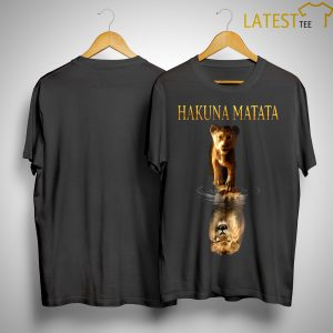 The Lion King Simba Reflection Hakuna Matata Shirt