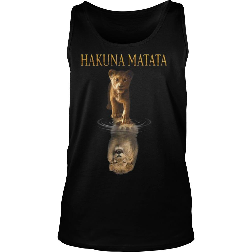 The Lion King Simba Reflection Hakuna Matata Tank Top