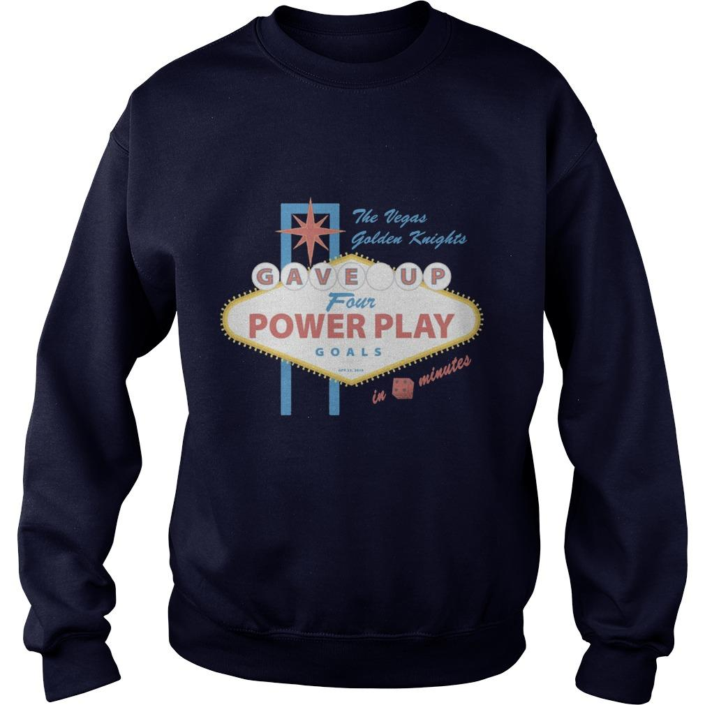 The Vegas Golden Knights Gave Up Four Power Play Goals Sweater