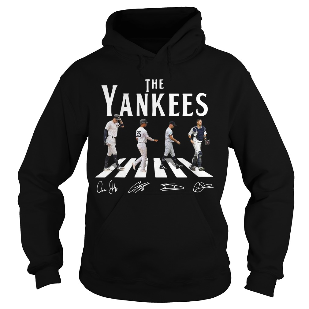 The Yankees Abbey Road Signatures Hoodie