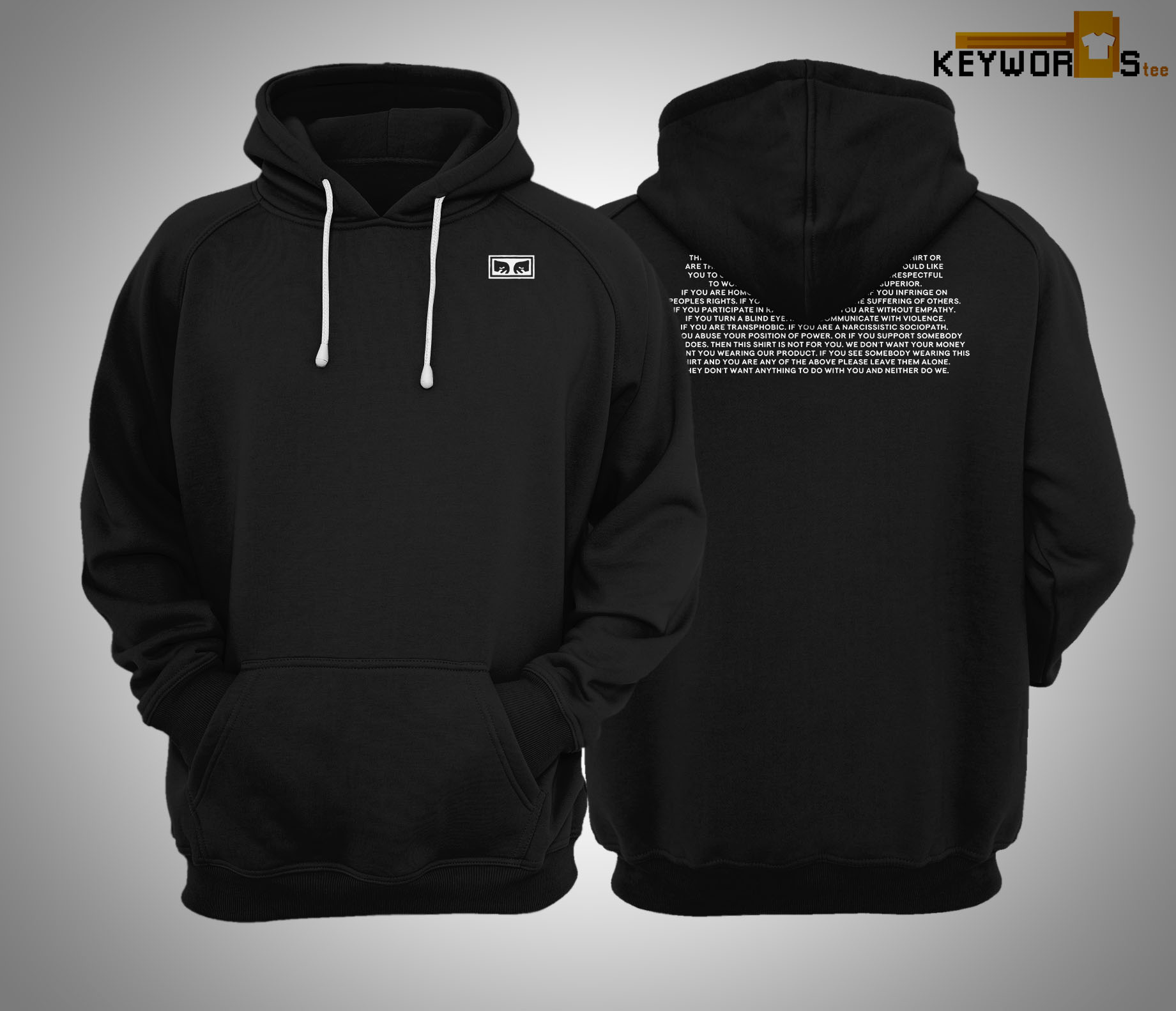 This Is an OBEY Hoodie