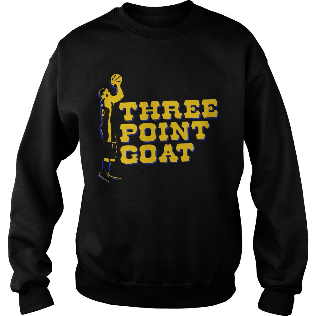 Three Point Goat Stephen Curry Sweater