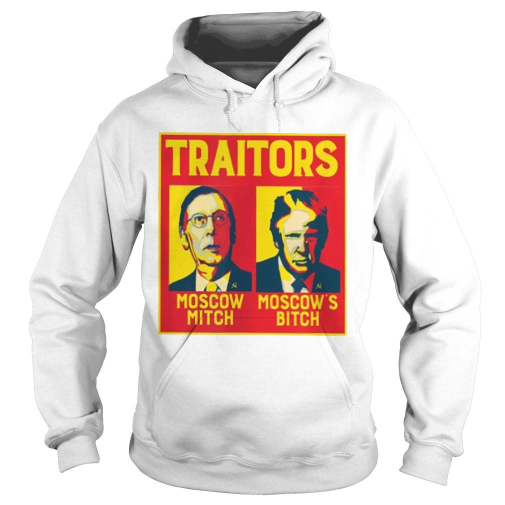 Traitors Moscow Mitch Moscow's Bitch Hoodie