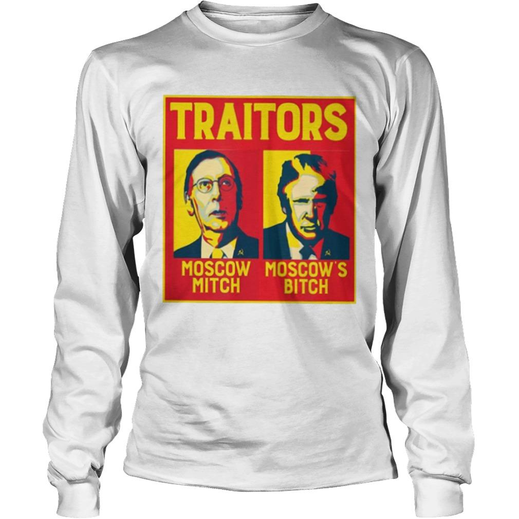 Traitors Moscow Mitch Moscow's Bitch Longsleeve