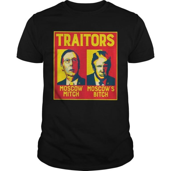 Traitors Moscow Mitch Moscow's Bitch