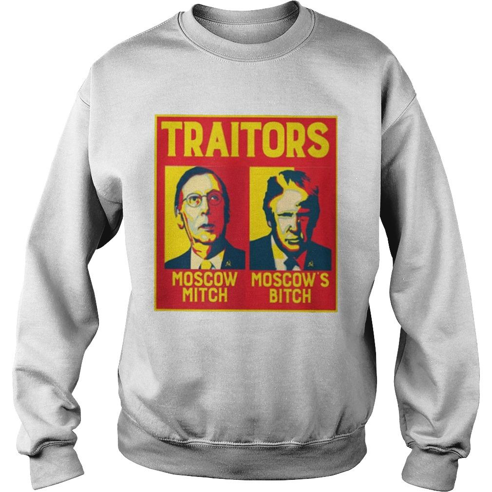 Traitors Moscow Mitch Moscow's Bitch Sweater