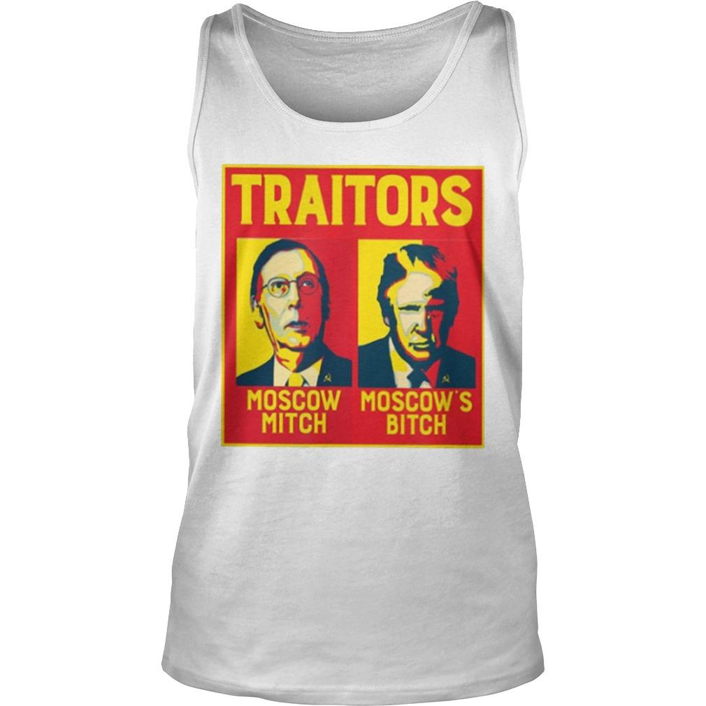 Traitors Moscow Mitch Moscow's Bitch Tank Top