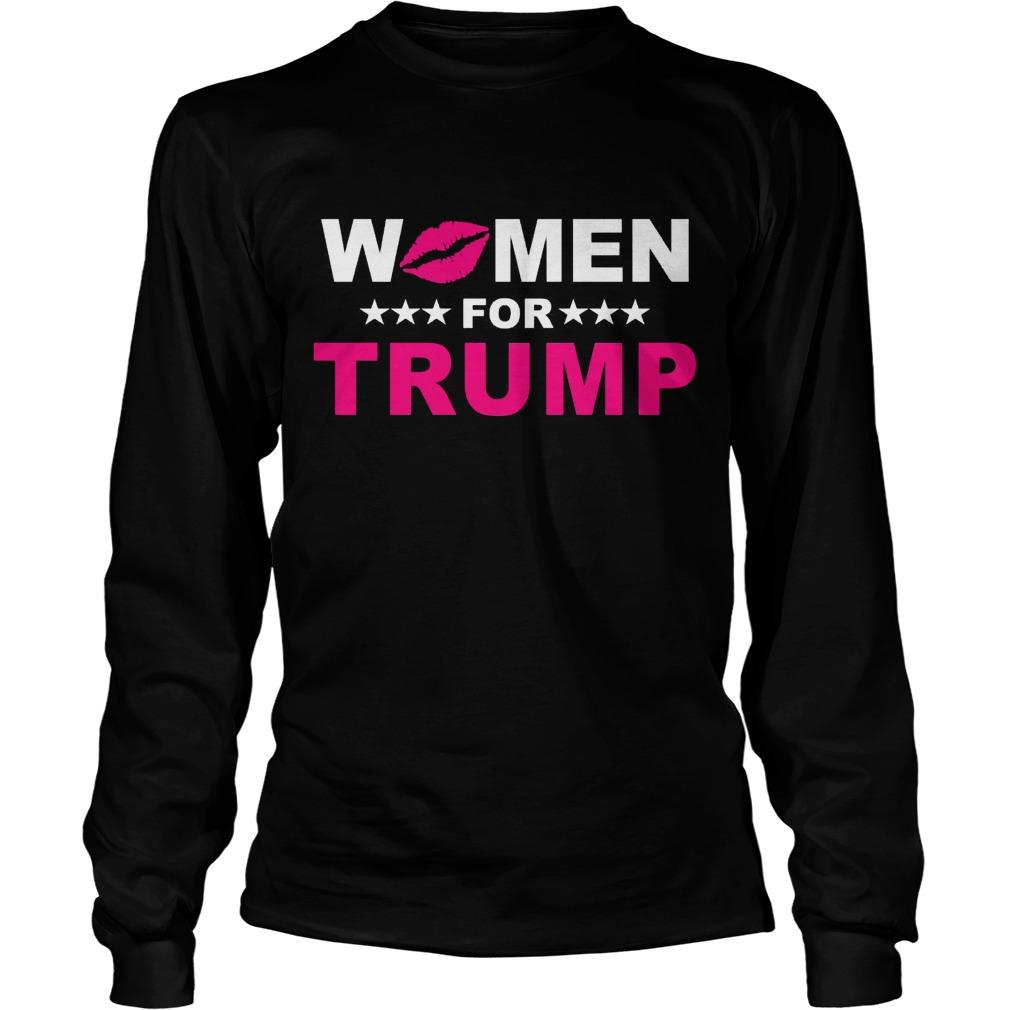 Trumperware Luncheon Women For Trump Longsleeve