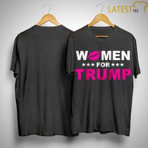 Trumperware Luncheon Women For Trump Shirt