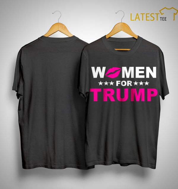 Trumperware Luncheon Women For Trump Shirt