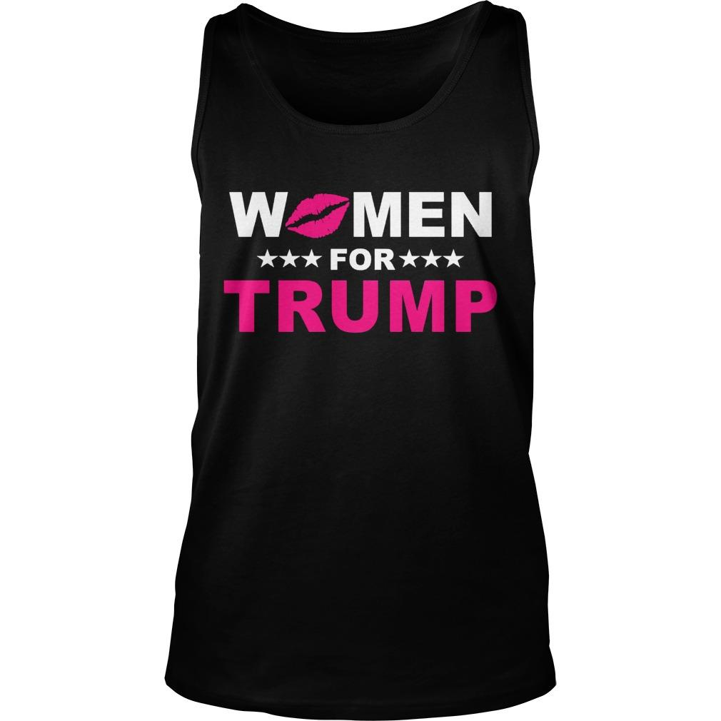 Trumperware Luncheon Women For Trump Tank Top