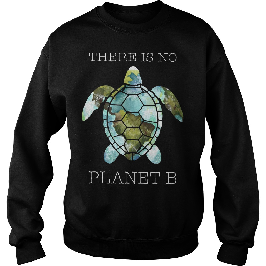 Turtle There Is Planet B Sweater