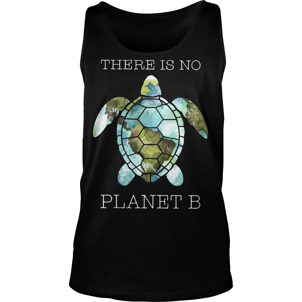 Turtle There Is Planet B Tank Top