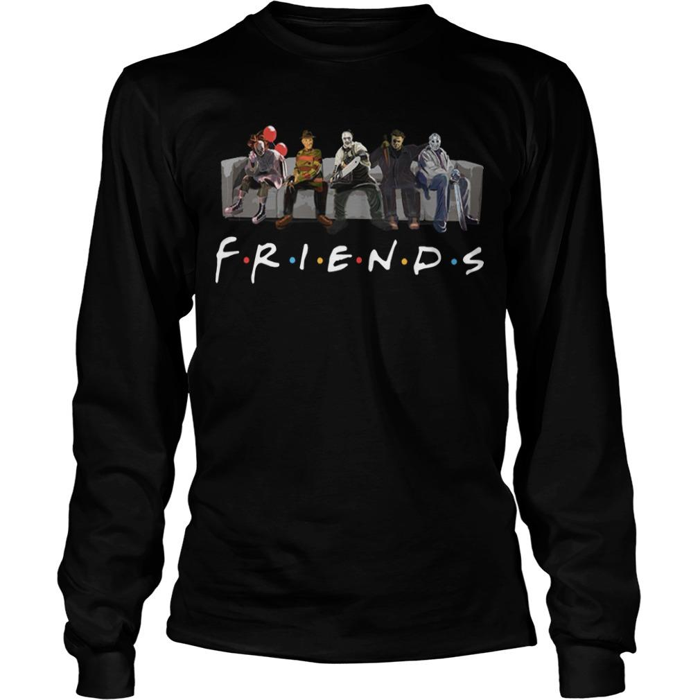 Tv Show Friends Horror Longsleeve
