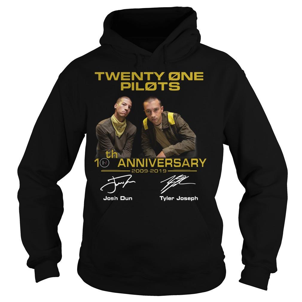 Twenty One Pilots 20th Anniversary 2009 2019 Hoodie