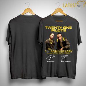 Twenty One Pilots 20th Anniversary 2009 2019 Shirt