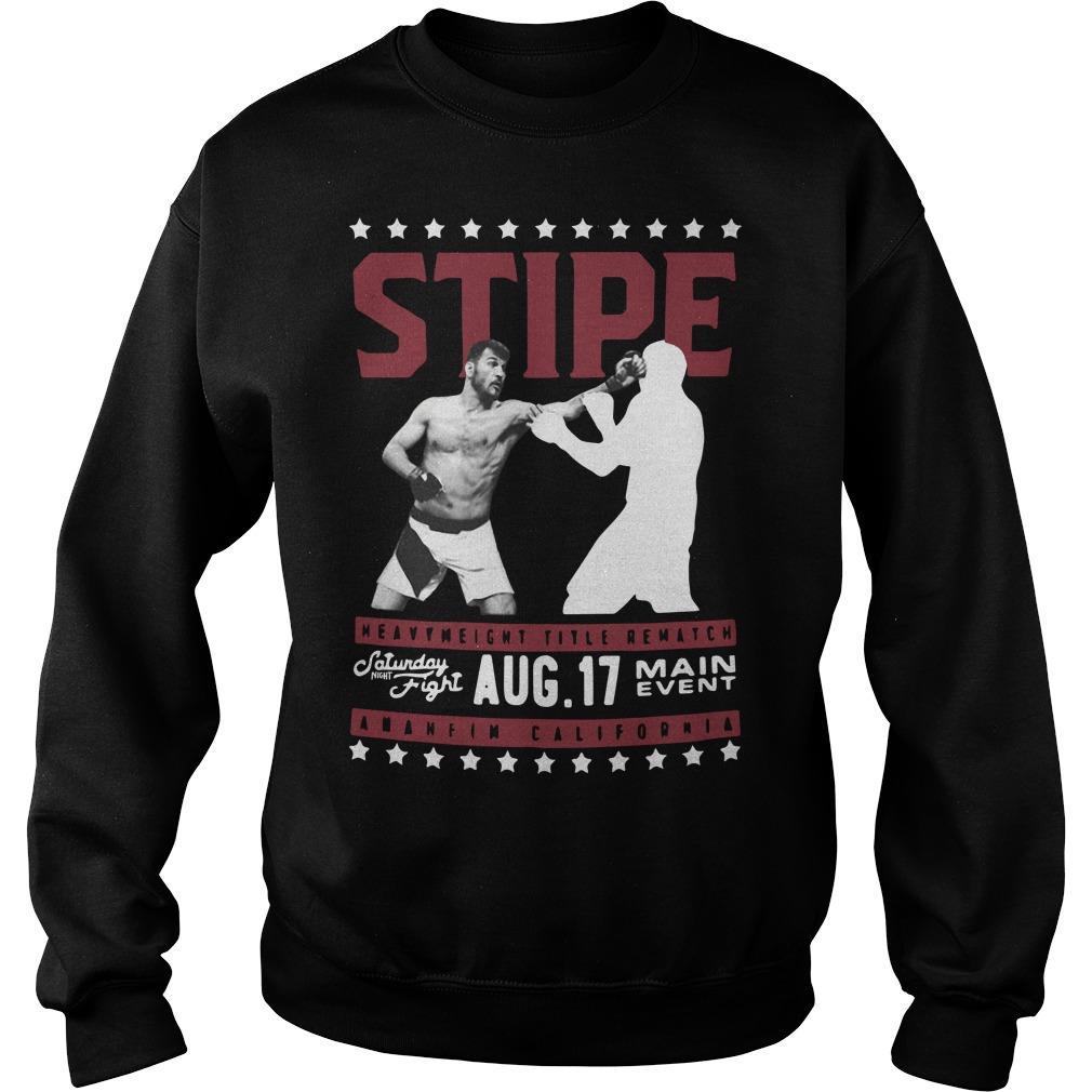 UFC 241 Daniel Cormer Rematch Stipe Miocic Sweater