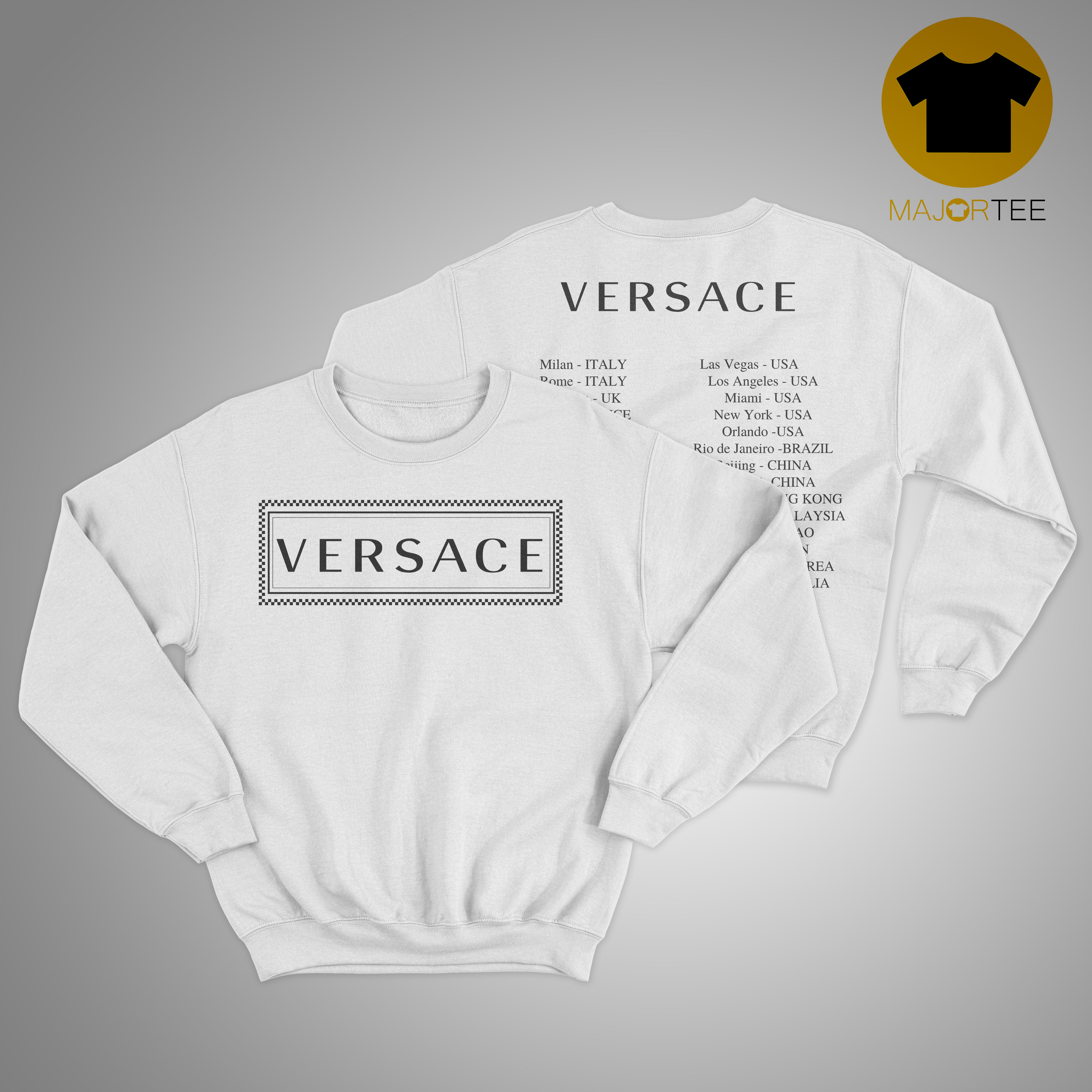 Versace Hong Kong Sweaater