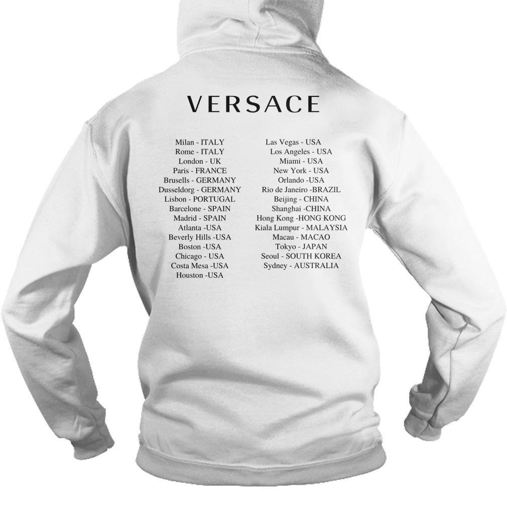Versace Hong Kong T Hoodie
