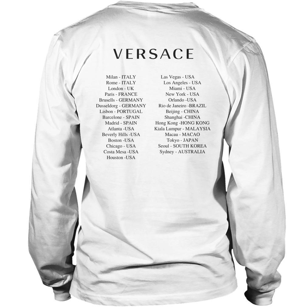 Versace Hong Kong T Longsleeve