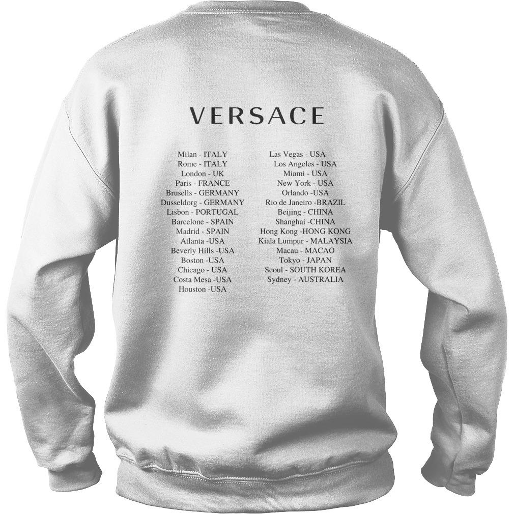 Versace Hong Kong T Sweater