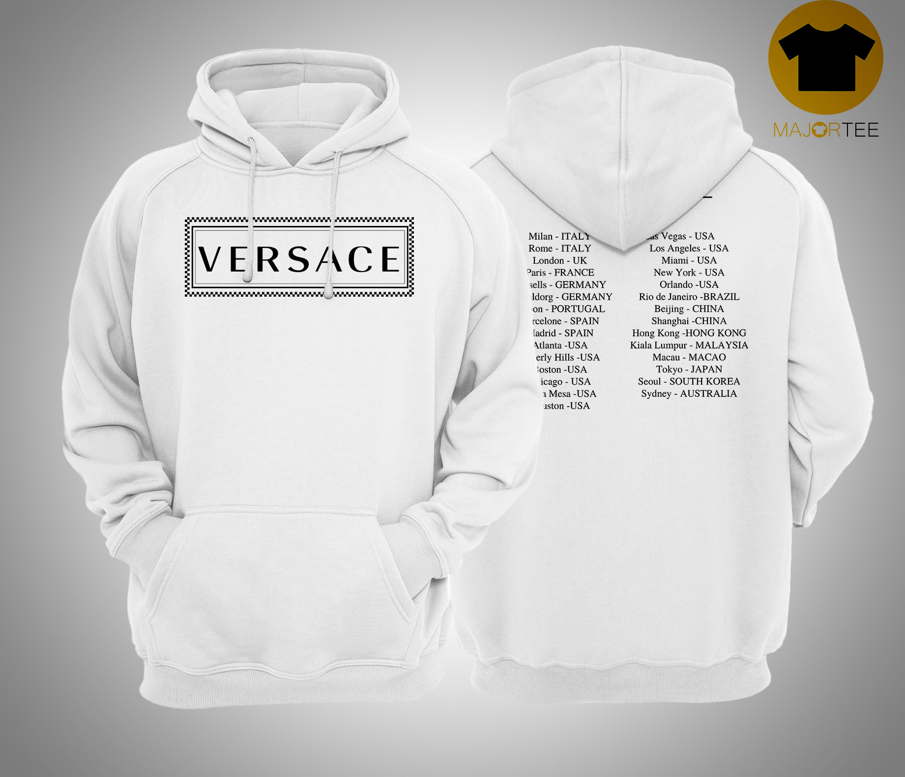 Versace Hoodie China Controversy