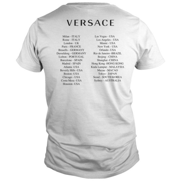 Versace T China Controversy Shirt