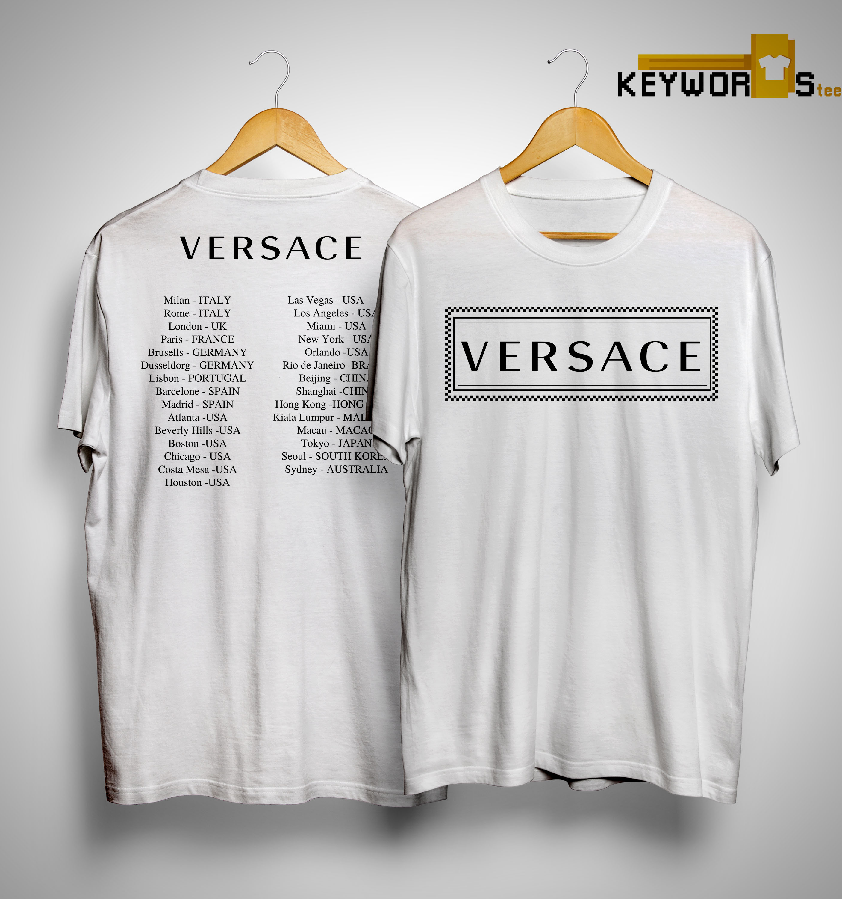Versace T Shirt Controversy