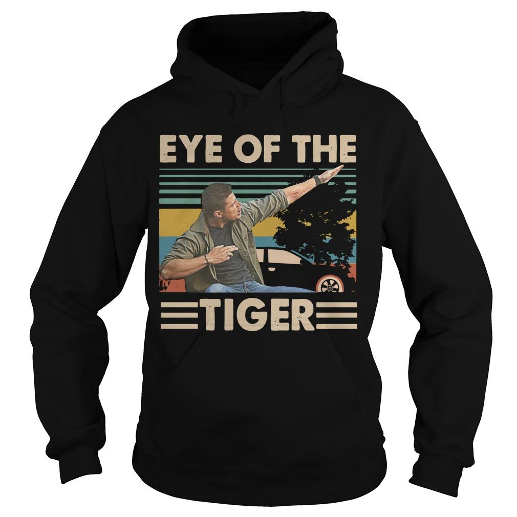 Vintage Dabbing Dean Winchester Dabbing Eye Of The Tiger Hoodie