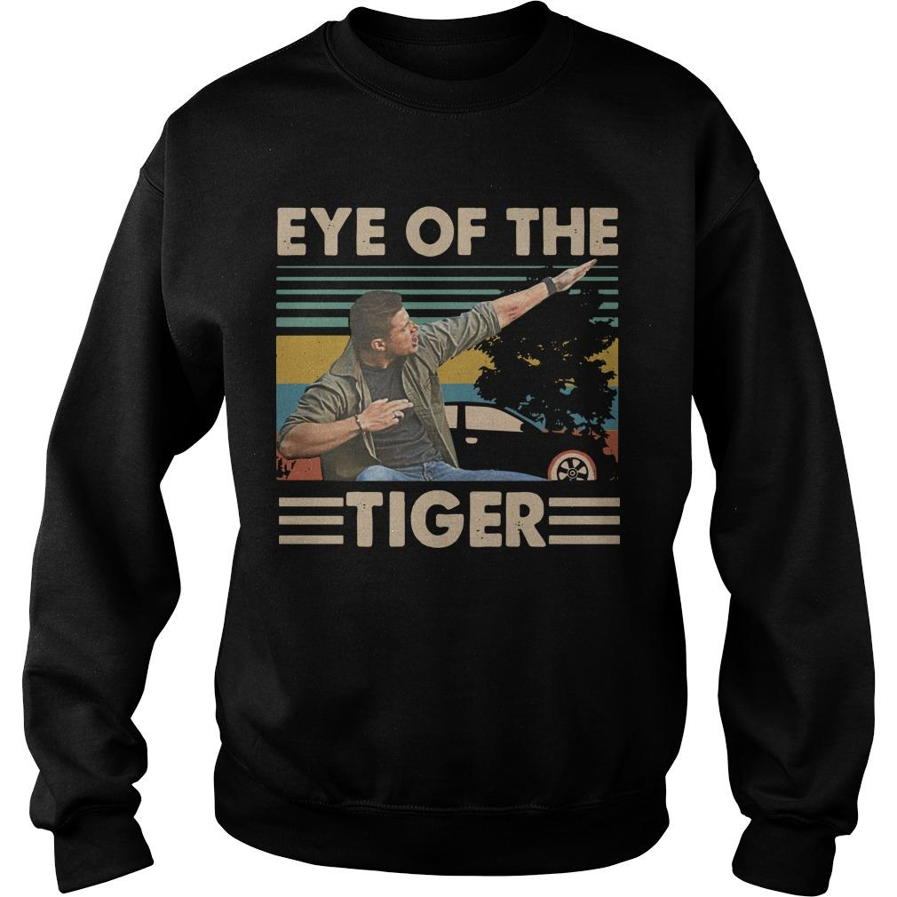 Vintage Dabbing Dean Winchester Dabbing Eye Of The Tiger Sweater
