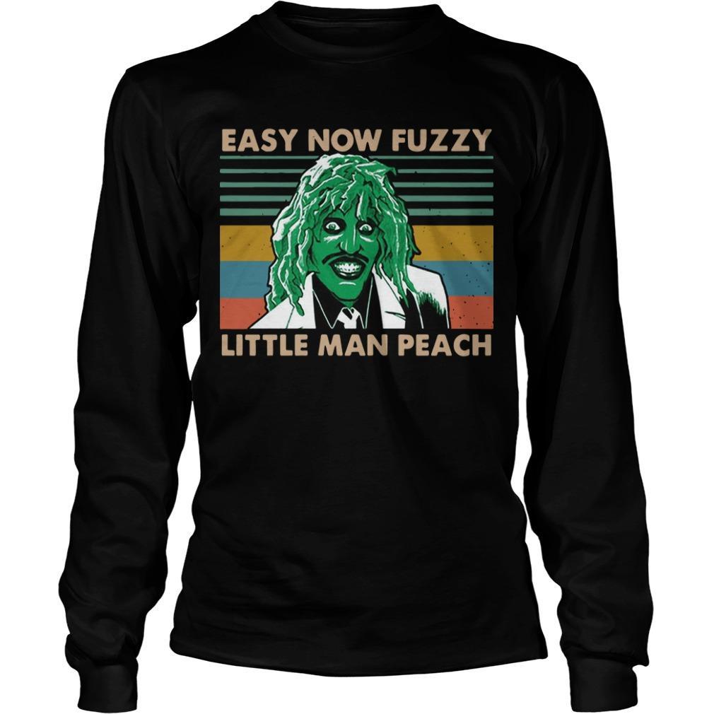 Vintage Essy Now Fuzzy Little Man Peach Longsleeve