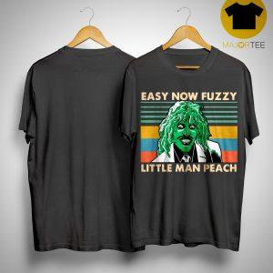 Vintage Essy Now Fuzzy Little Man Peach Shirt