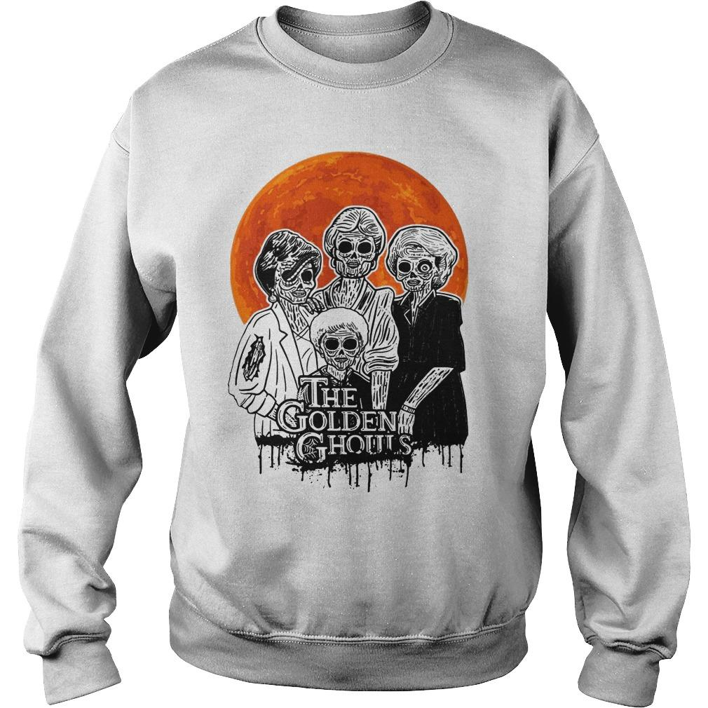 Vintage Golden Ghouls Sweater
