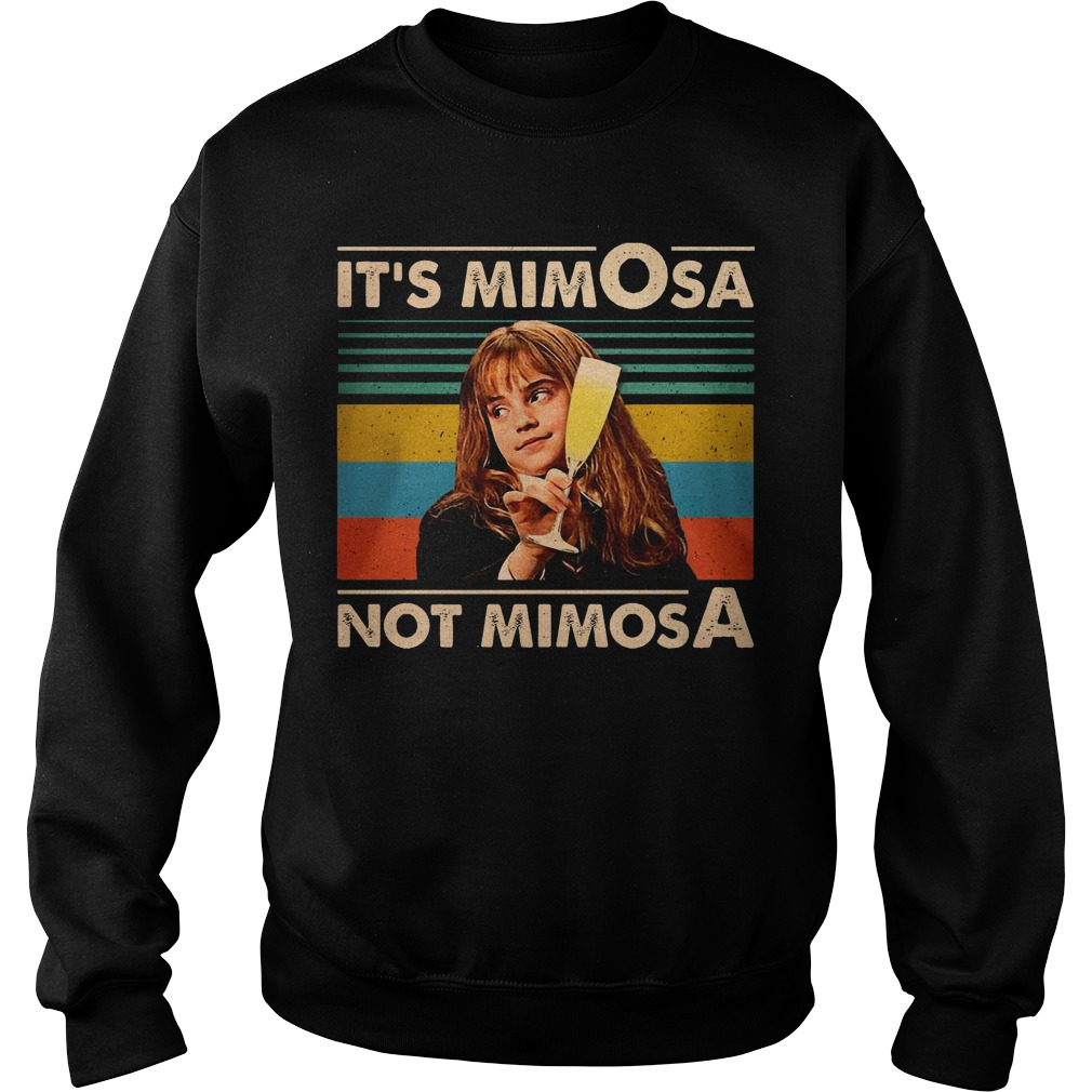 Vintage Hermione Granger It's Mimosa Not Mimosa Sweater