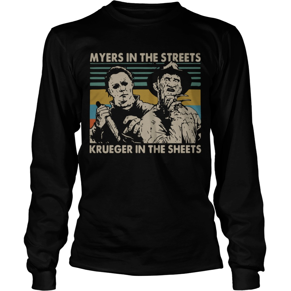 Vintage Myers In The Streets Krueger In The Sheets Longsleeve