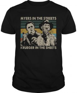 Vintage Myers In The Streets Krueger In The Sheets
