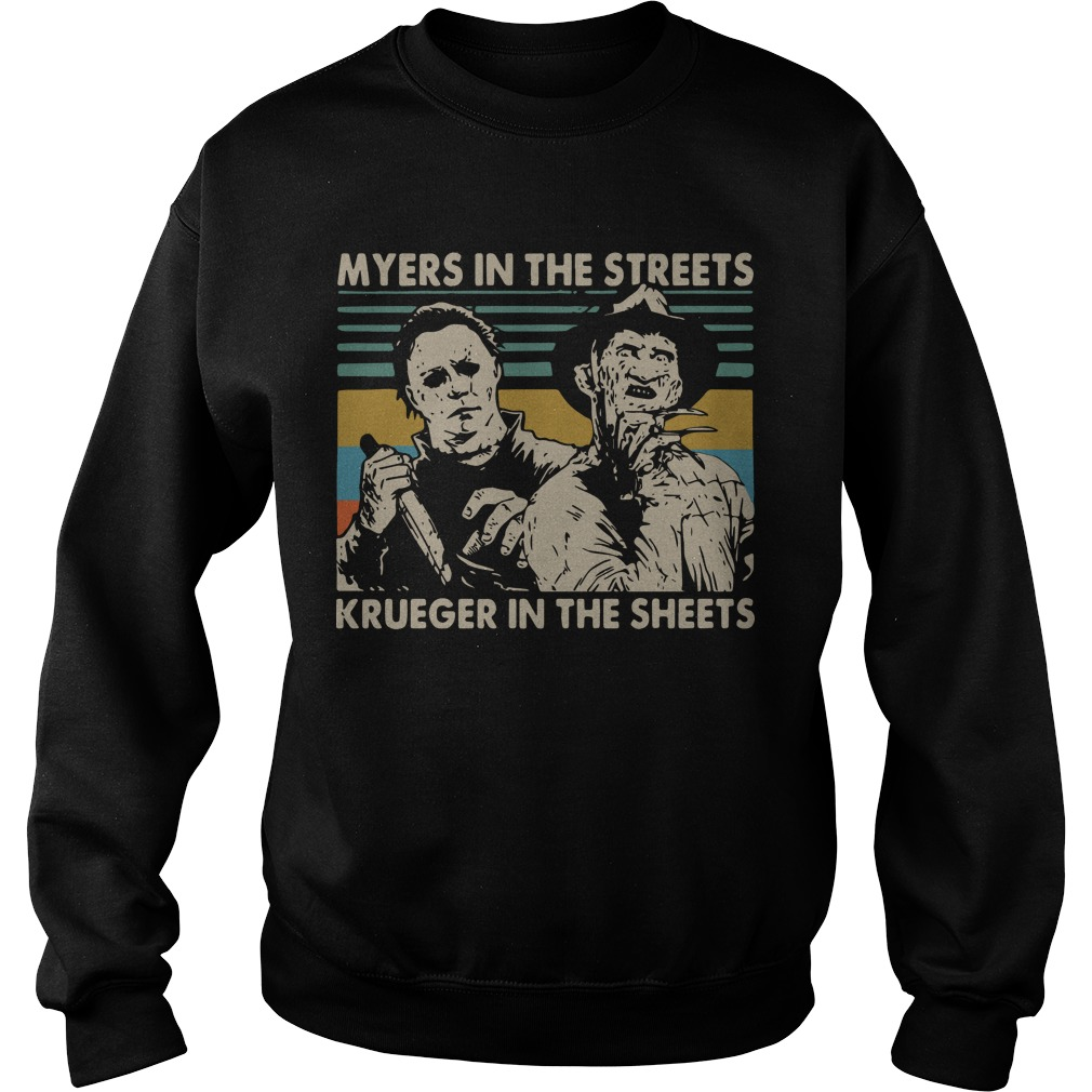 Vintage Myers In The Streets Krueger In The Sheets Sweater