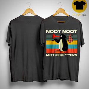 Vintage Pingu Noot Noot Motherfucker Shirt