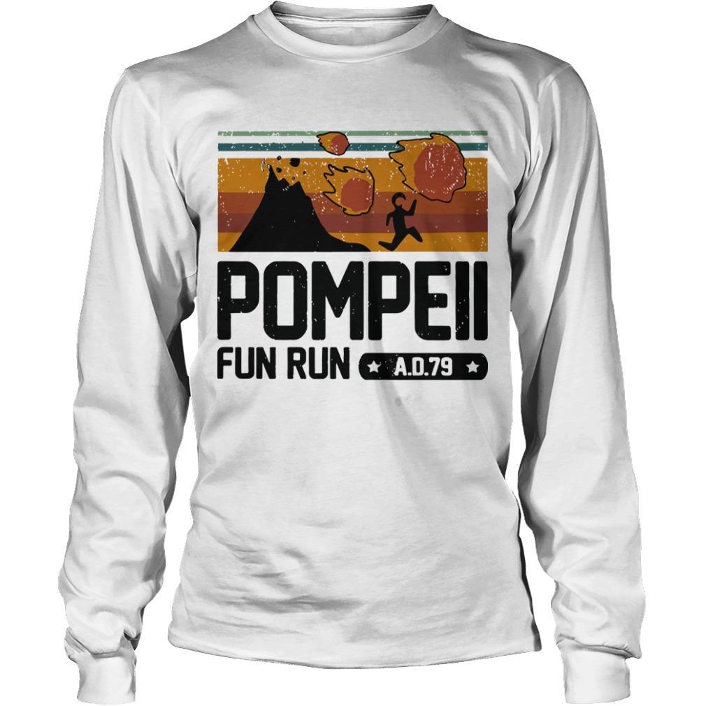 Vintage Pompeii Fun Run Ad 79 Longsleeve