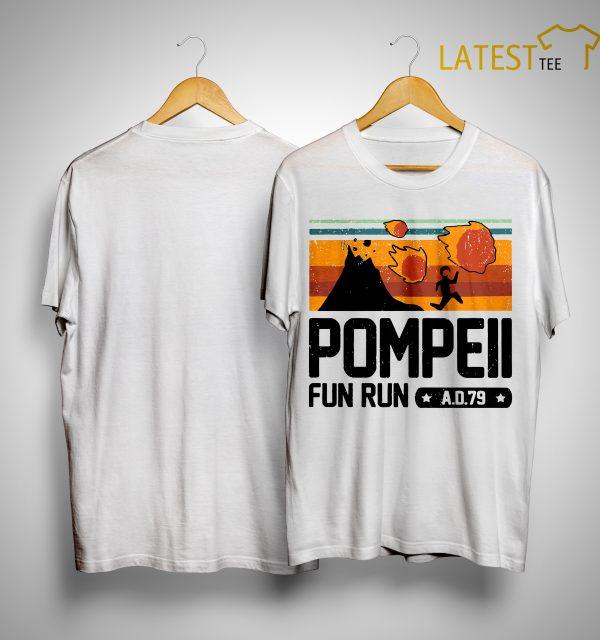 Vintage Pompeii Fun Run Ad 79 Shirt