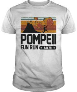 Vintage Pompeii Fun Run Ad 79