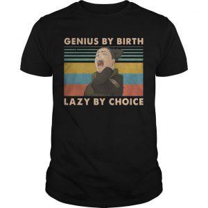 Vintage Shikamaru Genius By Birth Lazy By Choice